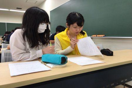 「教養卒論」の授業風景(2)